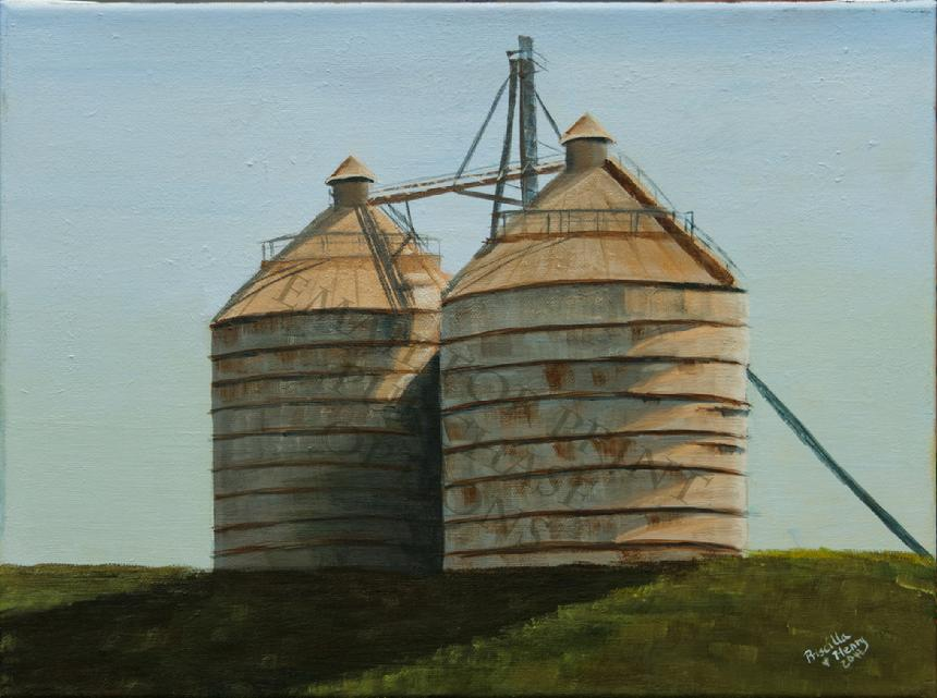 The Silos in Waco (Before They Were Famous)